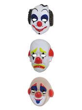 Gesichtsmaske Clown Karneval Fasching Zirkus Kostüm