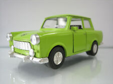 Diecast Made in China Trabant Traction Car Green Very Good Condition