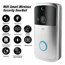 Wireless WiFi Video Doorbell Two-Way Talk Smart Door Bell Home Security Camera