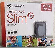 Seagate Backup Plus Slim Portable Storage 2 TB USB 3.0