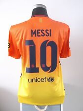 MESSI #10 Barcelona Away Football Shirt Jersey 2012/13 (M)