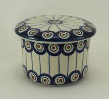 Bunzlauer Keramik Butterdose, Hermetic mit Wasserkühlung, französisch (M136-54A)