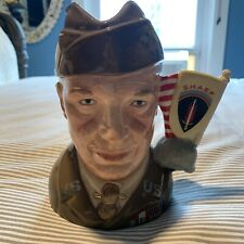 Royal Doulton Jug General Eisenhower Character Jug. Limited Edition