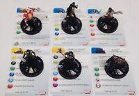 Heroclix Thor: The Dark World Movie set COMPLETE 6-figure Starter set w/cards!