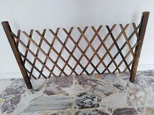 Recinzione in legno giardino 180cm x70 cm