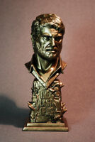 CUSTOM SCULPTED INSPIRED BY JOEL THE LAST OF US FAUX BRONZE BUST STATUE FIGURE
