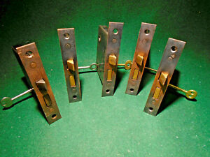 Solid Brass Antique Russwin Mortise Lock E0046 Privacy