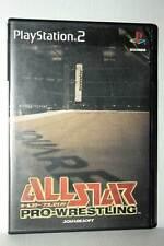 ALL-STAR PRO WRESTLING USATO OTTIMO SONY PS2 EDIZIONE JAPAN NTSC/J GD1 42192