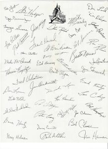 1966 WASHINGTON SENATORS MEMORABILIA w SCHEDULE PRESS GUIDE, AUTOGRAPH & PHOTO +