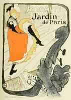 A4 Photo Toulouse Lautrec Henri de 1864 1901 Les Affiches de Toulouse Lautrec Ja
