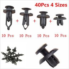 40X Car Body Trunk Bumper Push Pin Rivet Retainer Moulding Clip Assortments Kis