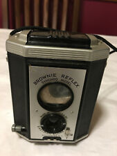 Vtg Eastman Kodak Brownie Reflex Synchro Model Camera W/ Strap original box