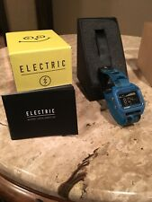 New Electric ED01-T NATO Twin Fin Blue Edition Digital LCD Tide Graph Watch