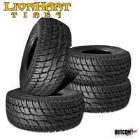 4 X New Lionhart LIONCLAW ATX2 LT245/70R17 119/116S All Season Performance Tires