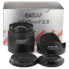 Mamiya 645 AF 45mm 1:2.8 for Mamiya AF AFD II III and Phase One 645DF DF+ (1444)