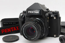 Near Mint PENTAX 67 II AE Finder + SMC P 67 90mm F2.8 Late Model Lens from Japan