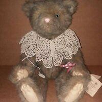 Plush Artist Handmade Teddy Bear Wendy Brent 8/100 Ginger Cinnamon Grizzelbears