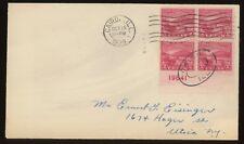 #681 PLATE BLOCK  FDC 10-19-1929, Cairo IL ~ OHIO RIVER CANALIZATION