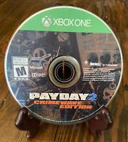 Payday 2: Crimewave (Microsoft Xbox One, 2015) Disc Only