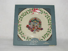 Toy Store Lenox 1995 Annual Holiday Collector's Ltd Ed Plate #5 - Mib