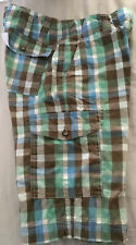 Johnny B Boden Boys 28 Cargo Shorts Cargo Cotton Adjustable Waist