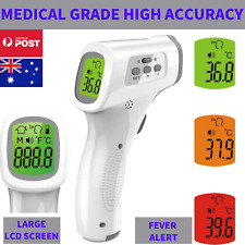 Baby Adult Digital Thermometer Infrared Forehead Non-touch Body Temperature Gun
