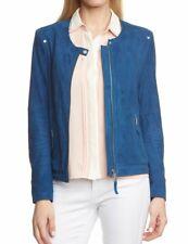 BOGNER Jeans ELLEN Damen Lederjacke, Size: M, L / Blau
