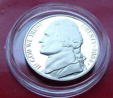 VERY WELL STRUCK PROOF US  2004  S Jefferson Nickel, Keelboat Coin with HOLDER