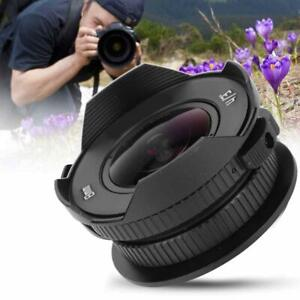 8mm F3.8 APS Frame Fish Eye Wide Angle Lens for Olympus/ M4/3 Camera TG