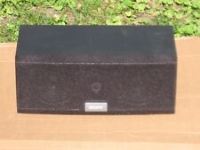 One Sony 8 ohm Two Way Center Speaker System In Good Condition!