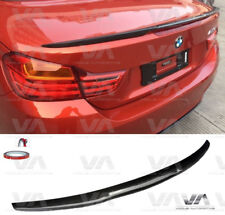 BMW 4 SERIES F33 F83 M4 STYLE CARBON FIBER BOOT TRUNK LIP SPOILER