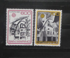 TIMBRES SAINT MARIN** série EUROPA - 1987 - Y/T 1148 et 1149 (A379)