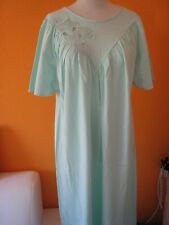 e995f5c25c711f Nachthemd Nachtkleid von Cherie Line* Gr. 44 * grün mint * Kurzarm *  ungetragen