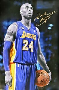 Kobe Bryant 24 X 36 Poster New, Color, Signature Moment 8-78 - 1-20 RIP