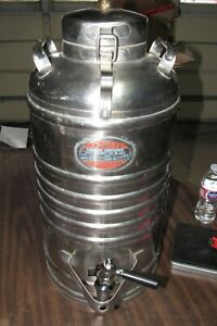 AerVoid Thermal Liquid Carrier 5 Gallon Stainless Steel Jug Beverage Container