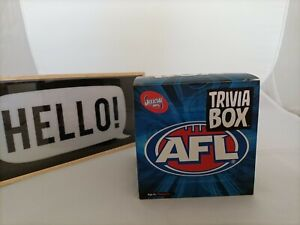 NEW ! Official AFL Trivia Box By Imagination - Free Postage !!