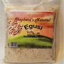Egusi By Shepherd's Natural Ground 226.8 gm 8oz Great Quality Taste and Price
