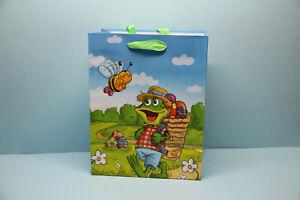 Geschenktasche Geschenktüte Ostern Frosch Tasche Tüte Verpackung