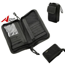 1000D Tactical Outdoor Mens Wallet ID Card Key Hand Bag Phone Pouch Case Black