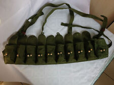 SURPLUS CHINESE SKS TYPE 56 SEMI AMMO CHEST-RIG BANDOLIER POUCH MILITARY BAG
