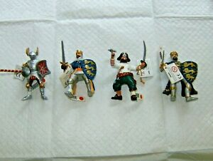 4 New w/ Tags Retired Hand Painted Papo Figure Fantasy Set & FREE GIFT