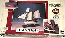 maquette bateau HANNAH 1775 1/70 AMATI neuf