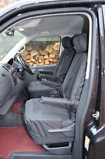 Volkswagen T5 Caravelle 2003-2015 Tailored Waterproof Black Seat Covers 7 Seats