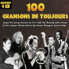 Coffret 4 CD 100 chansons de toujours - Vol. 1