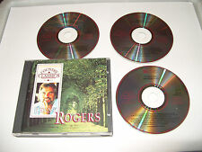 KENNY ROGERS -COUNTRY CLASSICS -3 CD-49 TRACKS-READERS DIGEST-1993-Ex Cond