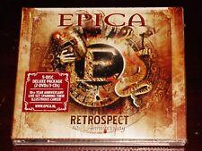 Epica: Retrospect - 10th Anniversary 3 CD + 2 DVD Set 2013 NB USA Digipak NEW