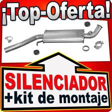 Silenciador Intermedio AUDI A6 100 2.0 2.2 2.3 1984-1996 Centro Escape XXX