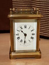 Pendule d'Officier miniature ancienne BIGELOW KENNARS  - pendulette de voyage -