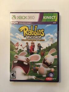 Rabbids Invasion (Microsoft Xbox 360, KINECT, 2014) Ubisoft - BRAND NEW SEALED