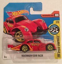 Hotwheels Volkswagen Kafer Racer VW Beetle Racer Momo (Comme neuf) court carte neuf 2017